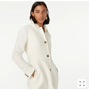 Womans italian double wool coat j.crew